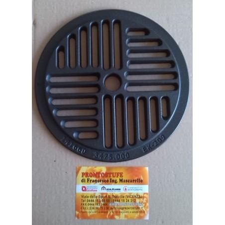 Griglia cenere ghisa fondello Diametro 235