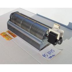 Ventilatore tangenziale girante lunga 30cm diametro 8 cm