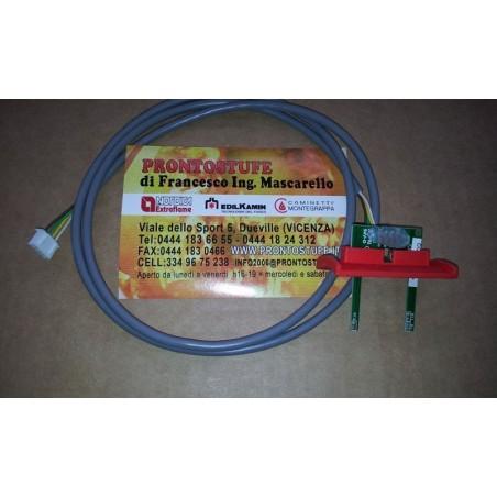 Sensore debimetro di flusso Extraflame cavo tondo