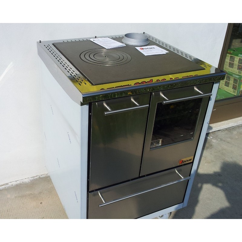 cucina economica Focus Cucine 60x60cm incasso con forno inox