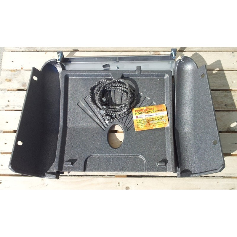 Guarnizione siliconica inserti comfort nera diametro 140 mm