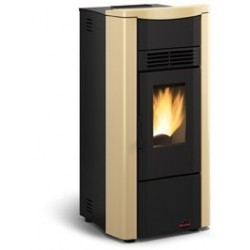 Giusy plus stufa pellet 8kw extraflame la nordica for Stufe pirolitiche