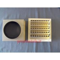 Bocchetta ventilazione con imbocco + serranda