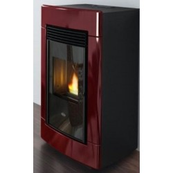 Laura stufa pellet maiolica eva calor 13 kw for Stufe pirolitiche