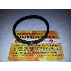 80x12mm Guarnizione Siliconica Nera d80 per tubo nero