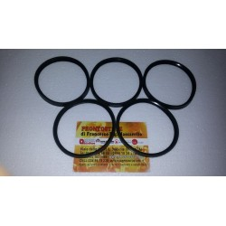 5 Pieces Kit 80x9,5mm Black Silicone Gasket d80 for inox tube