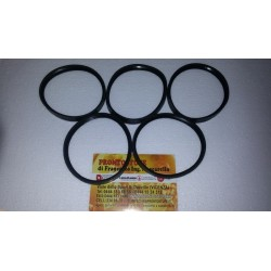 5 Pieces Kit 80x12mm Black Silicone Gasket d80 for black tube