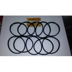 10 Pieces Kit 100x12mm Black Silicone Gasket d100 for black tube