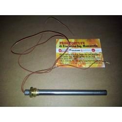 Candeletta accensione stufa pellet  filetto3/8 L135mm 250W