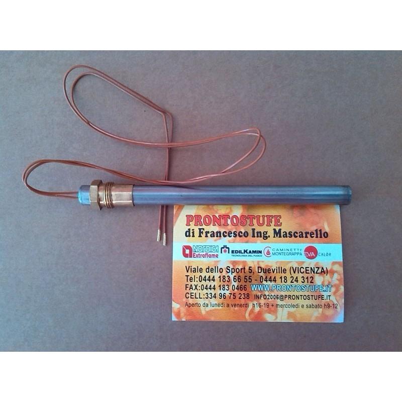 Candeletta con filetto 3/8 d12.5 lung.160mm comp. HT55422