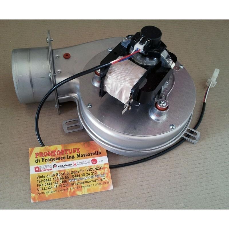 Estrattore Fumi LN PL21 con Encoder e Guscio 50W Flangia Tonda 165mm