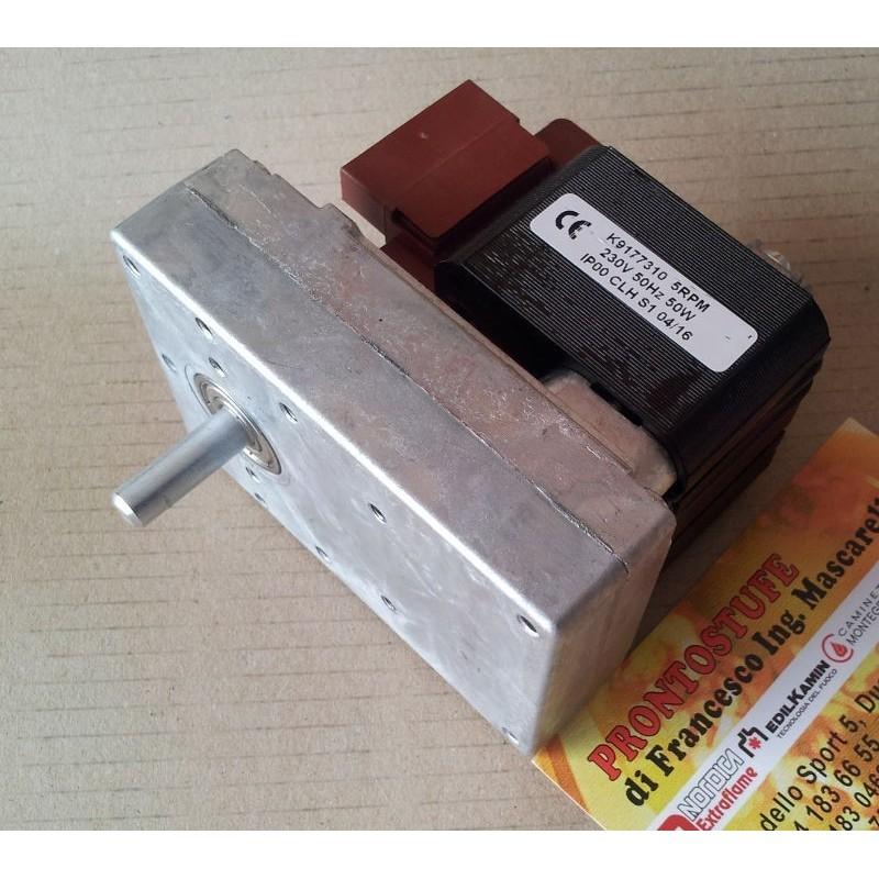 Motoriduttore 5 RPM Kenta albero 8.5 mm per Ungaro