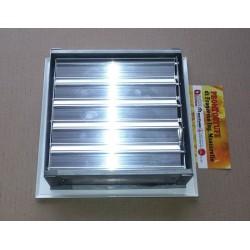 Bocchetta ventilazione griglia aria 175x175 con serranda