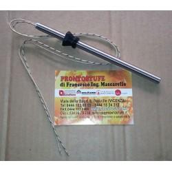 Candeletta accensione W320 D9.9mm Filetto Regolabile da 140 a 180 mm