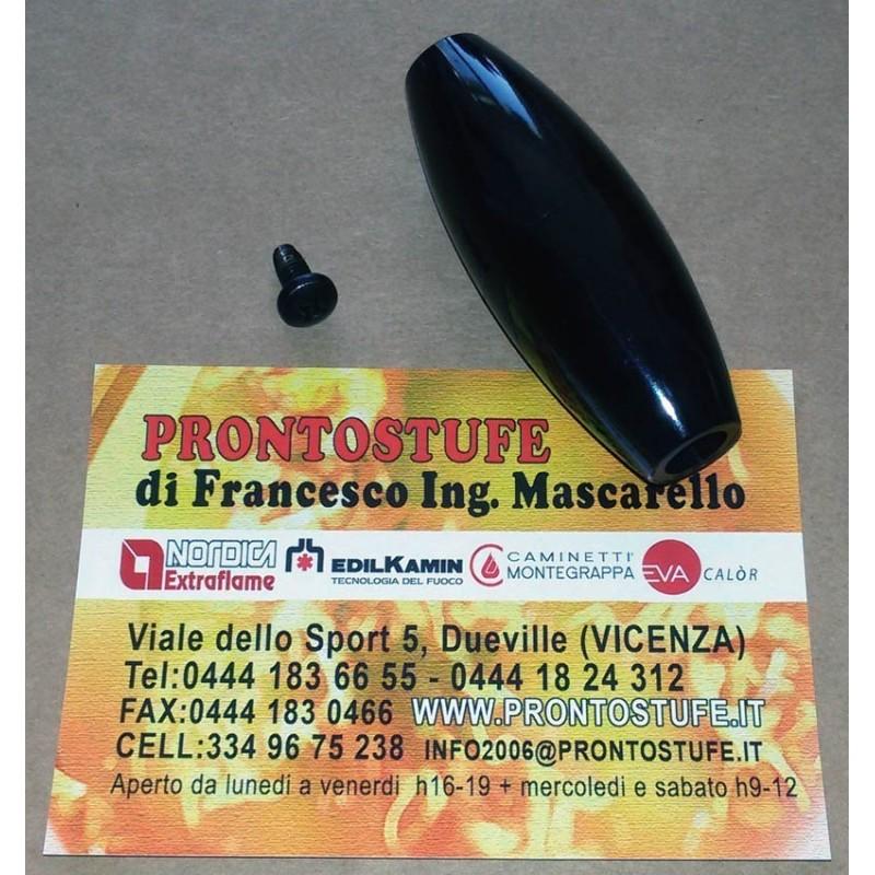Maniglia in Bachelite Nera LaNordica