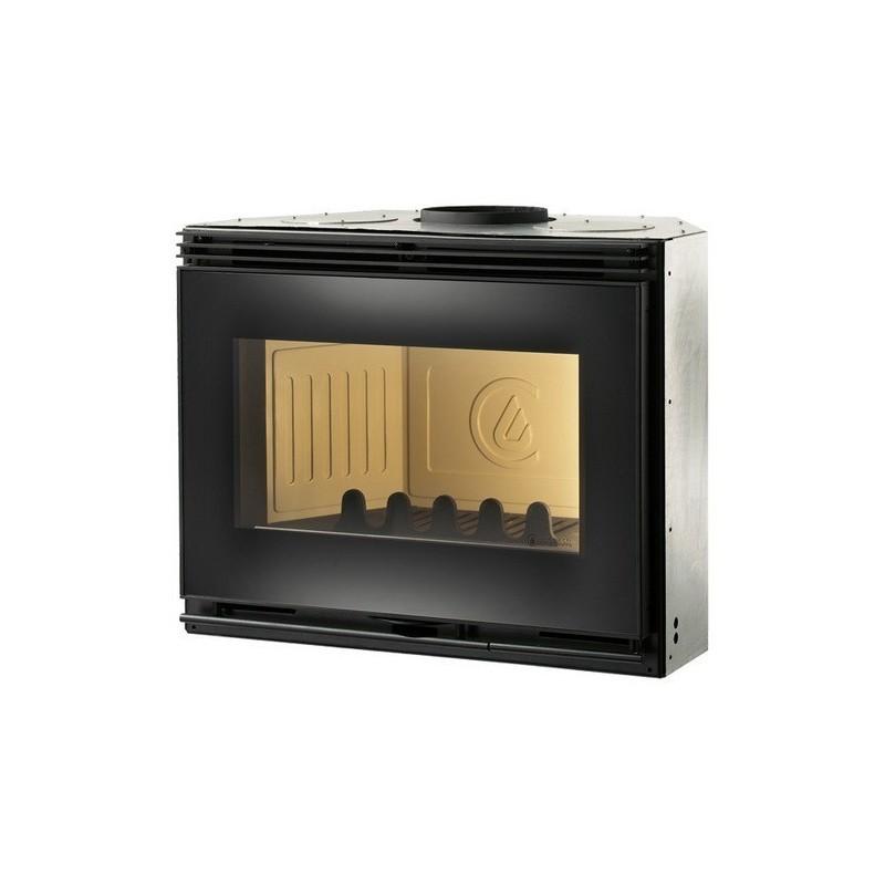 Caminetto Legna Naturale Modello Light 01 9 KW Caminetti Montegrappa Monobloque