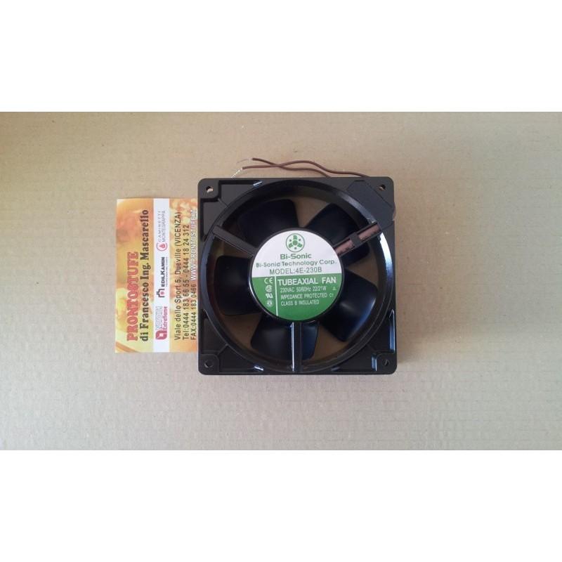 Ventilatore assiale aria per 4E-230B inserto Luce Riga Edilkamin