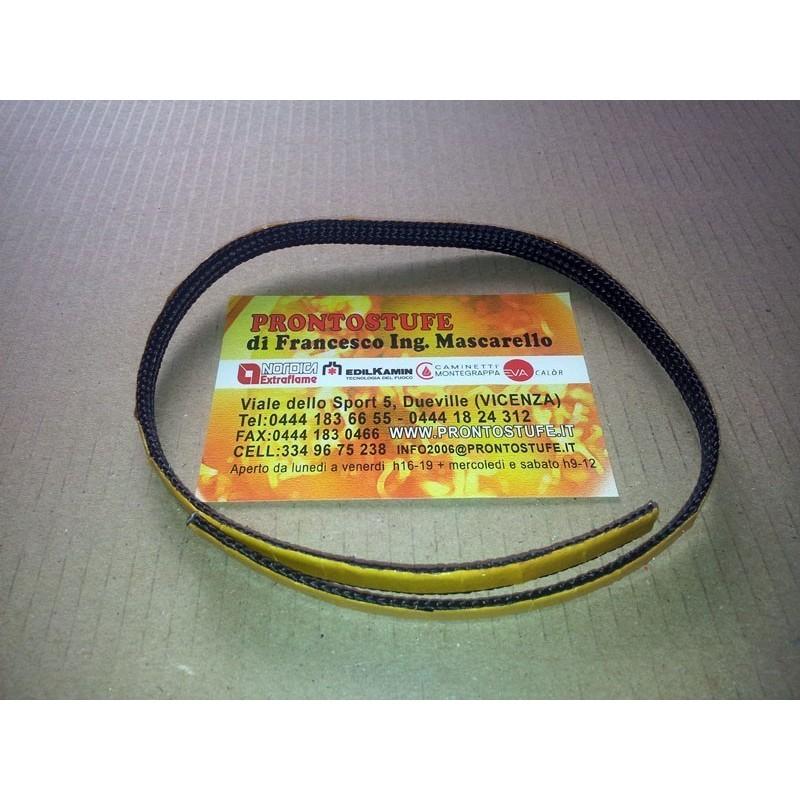 Guarnizione Adesiva Dura in Fili di Vetro Nera D.8x2mm Originale Extraflame