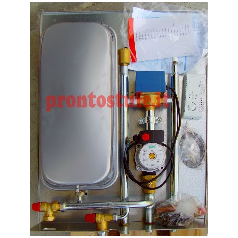 Kit ps5 collegamento termocamino vaso chiuso