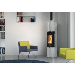 Wood stove Tally Up S steel 6 kw Edilkamin