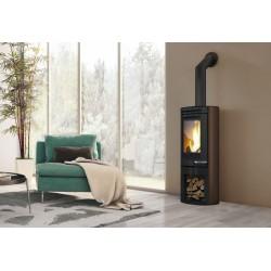 Wood stove Tally steel 6 kw Edilkamin