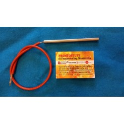 Cartridge heater d10mm, L153mm 300W, Pellet Stove