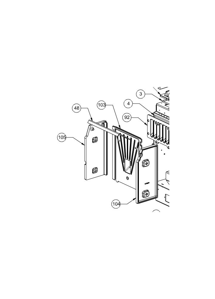 Deflettore per ghisa estraibile dorina stefy puccini 2 0 for Dal zotto stefy