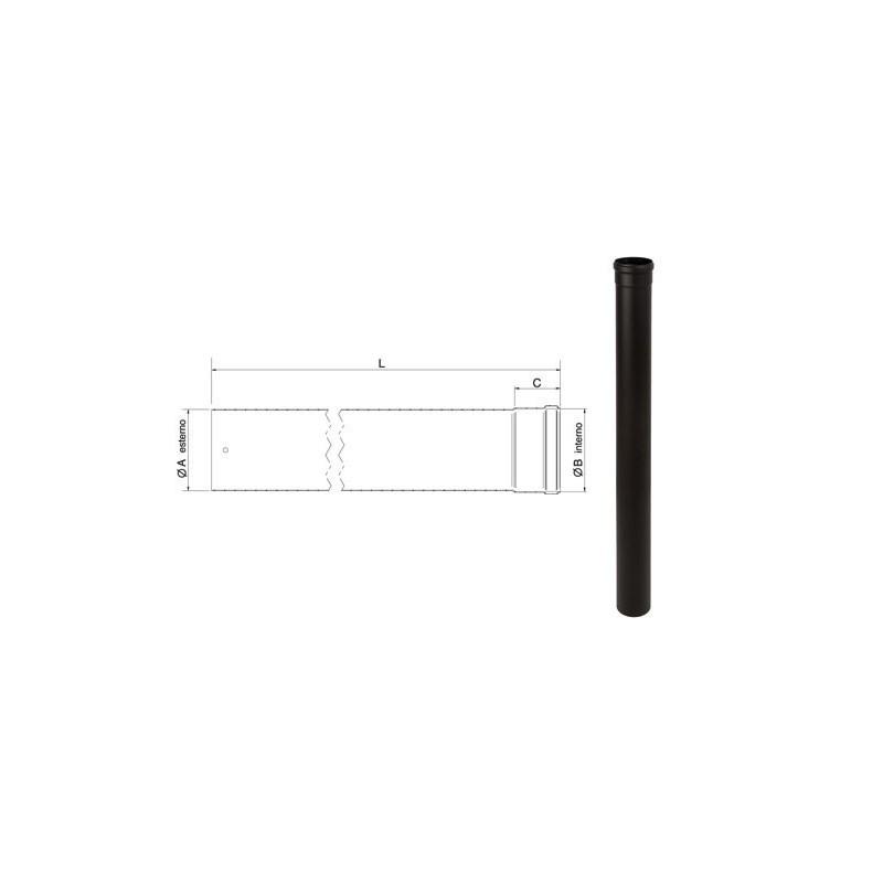 Tubo lineare lunghezza 200 cm