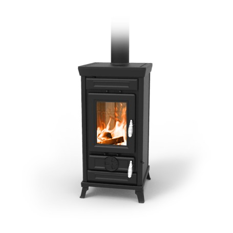 Sofia easy wood stove in cast iron 7,5 Kw Thermorossi