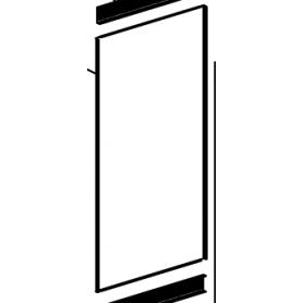 1151065 parete laterale piastrelle per gemma, dorella l8 x