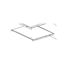1652108 riparo cassetto a legna zincato per nicoletta forno evo