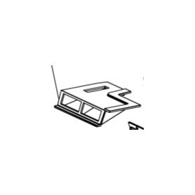 1135464 deflettore fumi grezzo per isotta forno  e isotta evo