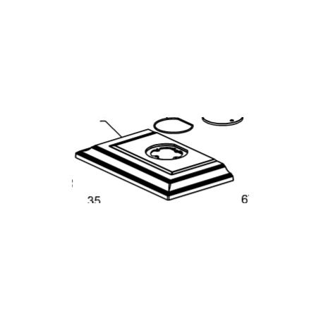 1135314 coperchio nero