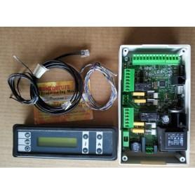 kit Electronic Control Unit Board +display + sensors for pellet Stoves Duepi V8 Model