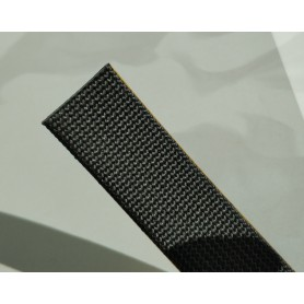Soft Adhesive Gasket in Black Glass Wires D.20x2mm