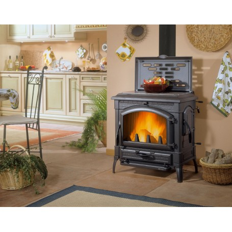 Isotta with circle evo stufa a legna 11,9 kw la nordica extraflame