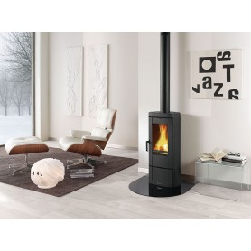 Candy wood stove in cast iron 7,2 Kw La nordica extraflame