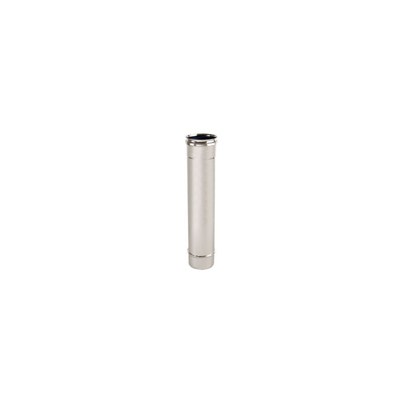 Tubo lineare inox cm 100
