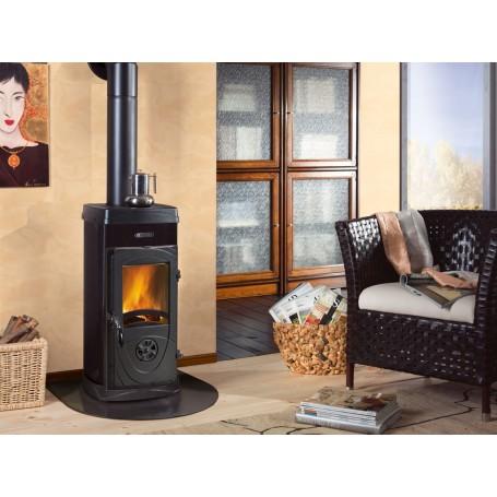 Super max wood stove 6 kw la Nordica Extraflame