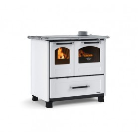 Family 4,5 woodburning cooker 9 kw la Nordica Extraflame