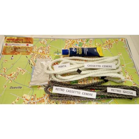 Kit trecce per stufa Clementina Extraflame