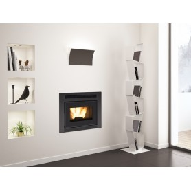 Comfort Idro L80 thermo fireplace 19 Kw la Nordica Extraflame