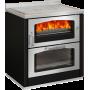 Cucina a legna D8 Maxi black De Manincor