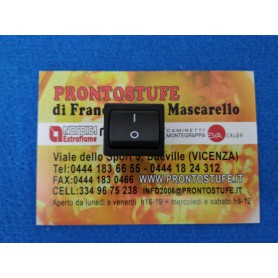 Bipolar switch for pellet stove Airbox Ecotherm Airbox Ecotherm 1000,1500, 2000, 3001, 5000, 6000, 7000, 8000 Thermorossi