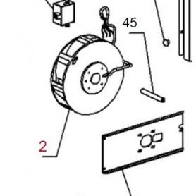 Ventilatore radiale Inserto 80 High Pressure La Nordica
