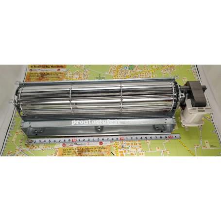30 cm lunghezza ventilatore tangenziale, rullo d60 mm, motore 20 mm destro