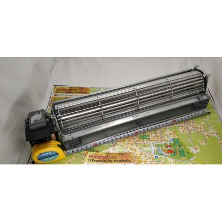 offerta 36 cm lunghezza ventilatore tangenziale, rullo d60 mm, motore 30 mm sinistro