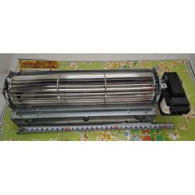 27 cm lunghezza ventilatore tangenziale, rullo d60 mm, motore 20 mm destro