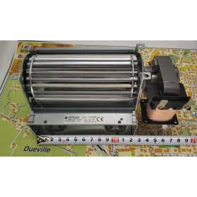 124 mm x 40 ventilatore tangenziale rullo da 60 mm destro pacco motore 15 mm