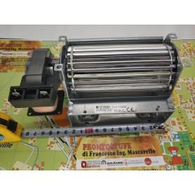 124 x 40 mm ventilatore tangenziale rullo da 60 mm sinistro pacco motore 15 mm